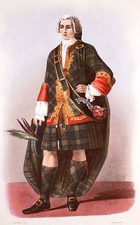 Depiction of a clan chief